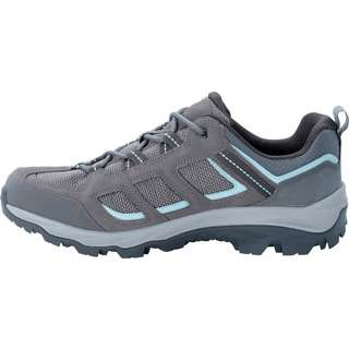 Jack Wolfskin VOJO 3 TEXAPORE LOW Wanderschuhe Damen tarmac grey-light blue