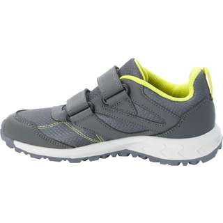 Jack Wolfskin WOODLAND TEXAPORE Multifunktionsschuhe Kinder grey/light green