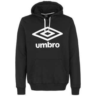 UMBRO FW Large Logo Hoodie Herren schwarz / weiß