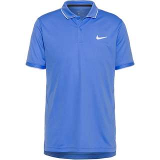 Nike Dry Tennis Polo Herren royal pulse-white-white