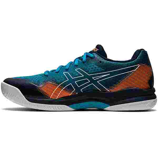 ASICS GEL-COURT HUNTER Hallenschuhe Herren teal blue-french blue