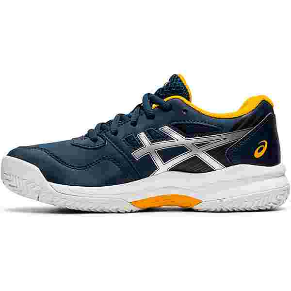 ASICS GEL-GAME 8 GS CLAY Tennisschuhe Kinder french blue-pure silver