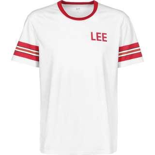 Lee Retro Stripe T-Shirt Herren weiß/rot