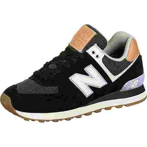 NEW BALANCE 574 Sneaker Damen schwarz