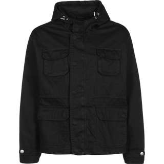 Urban Classics Cotton Field Windbreaker Herren schwarz