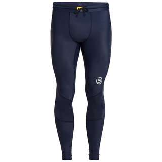 Skins S3 Long Tights Tights Herren Navy Blue