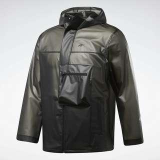 Reebok Edgeworks Jacket Trainingsjacke Herren Schwarz