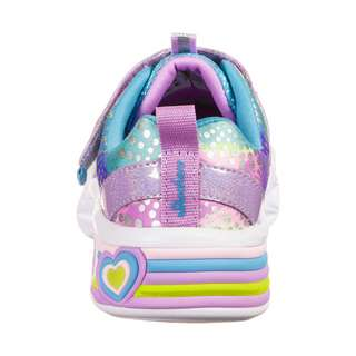 Skechers Sweetheart Lights Sneaker Kinder bunt