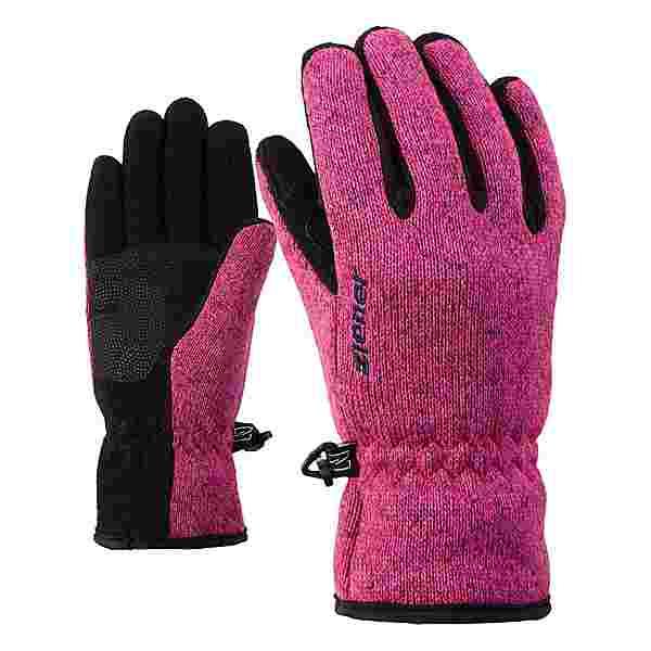 Ziener LIMAGIOS Junior Fingerhandschuhe Kinder pop pink