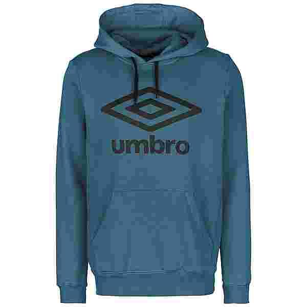 UMBRO FW Large Logo Hoodie Herren blau