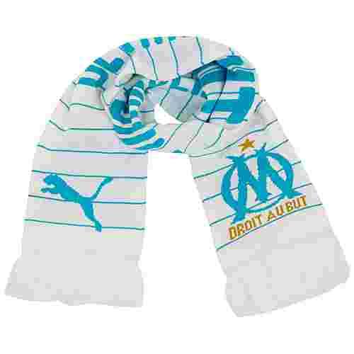 PUMA Olympique Marseille Schal weiß / blau