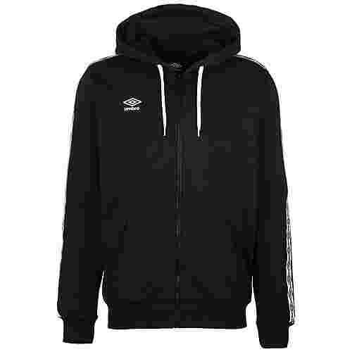 UMBRO FW Taped Zip Trainingsjacke Herren schwarz / weiß