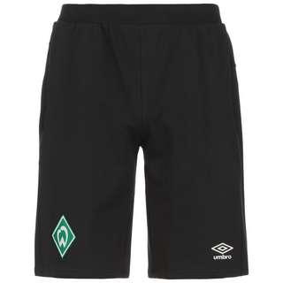UMBRO SV Werder Bremen Travel Fußballshorts Herren schwarz / grün