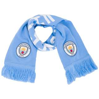 PUMA Manchester City DNA Schal hellblau / weiß
