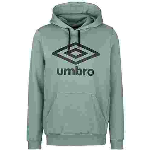 UMBRO FW Large Logo Hoodie Herren grün / schwarz