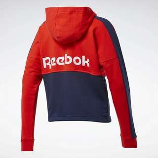 Reebok Training Essentials Logo Hoodie Funktionssweatshirt Damen Rot