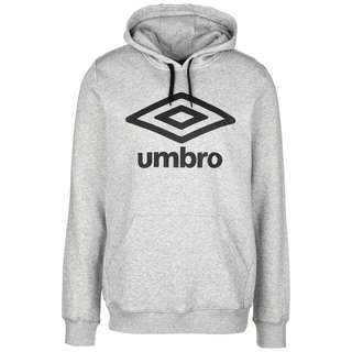UMBRO FW Large Logo Hoodie Herren grau / schwarz