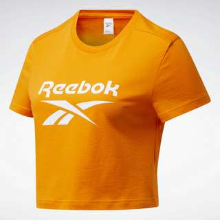 Reebok Classics Big Logo T-Shirt T-Shirt Damen Orange