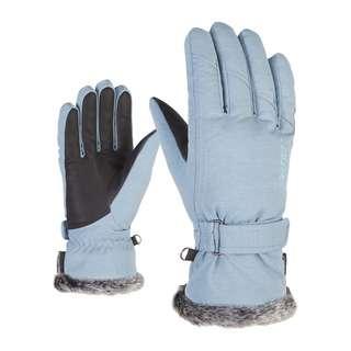Ziener KIM Skihandschuhe winter blue