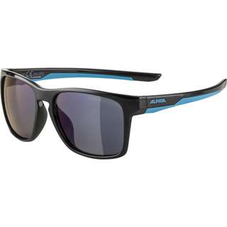 ALPINA FLEXXY COOL KIDS I Sportbrille Kinder black-cyan