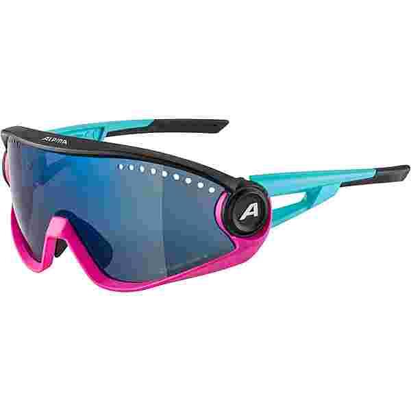 ALPINA 5W1NG CM+ Sportbrille blue-magenta-black