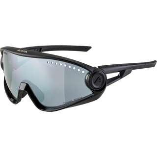ALPINA 5W1NG CM+ Sportbrille all black