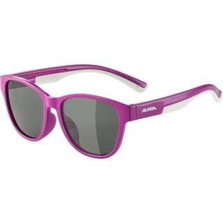 ALPINA FLEXXY COOL KIDS II Sportbrille Kinder berry-white