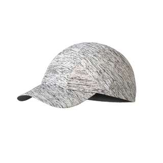 BUFF Pro Run Cap Damen silver grey
