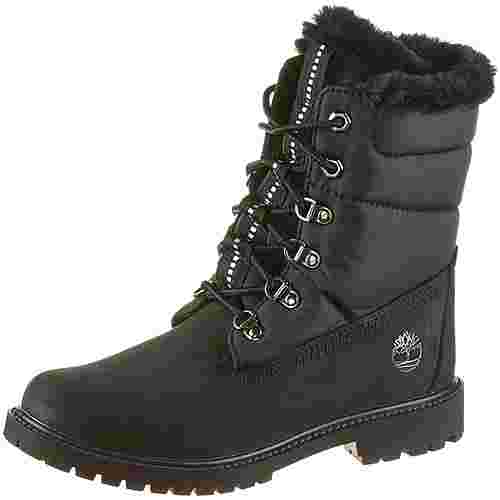 TIMBERLAND 6 Inch Heritage Puffer Boots Damen black