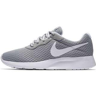 Nike Tanjun Sneaker Damen wolf grey-white