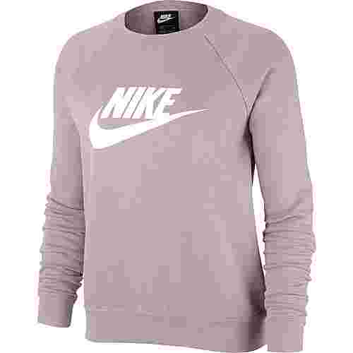 Nike NSW ESSENTIAL Sweatshirt Damen CHAMPAGNE-WHITE