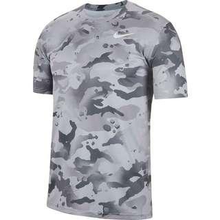 Nike Dry Camo Funktionsshirt Herren smoke grey-grey fog