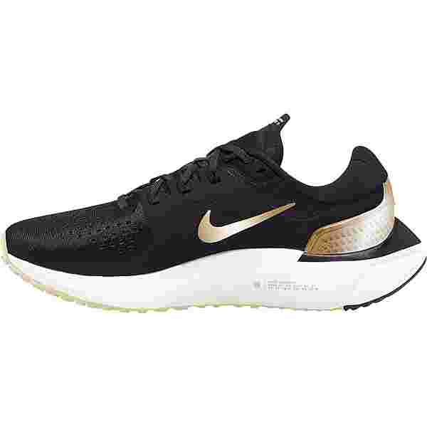 Nike Air Zoom Vomero 15 Laufschuhe Damen oil grey-metallic gold-ivory