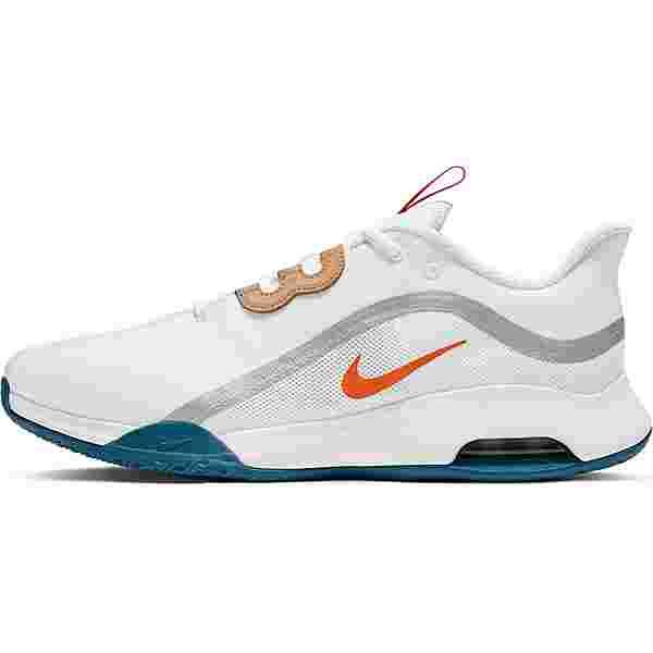 Nike AIR MAX VOLLEY Tennisschuhe Herren white-team orange-green abyss