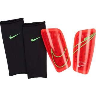 Nike Mercurial Lite Schienbeinschoner bright crimson-rage green-silver