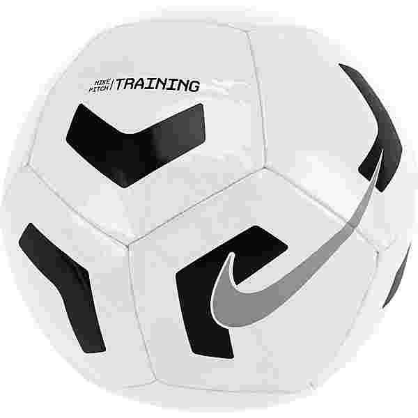 Nike Pitch Training Fußball white-black-silver