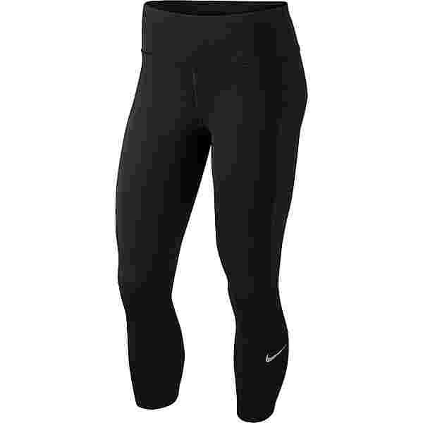 Nike Epic Lux Lauftights Damen black-reflective silv