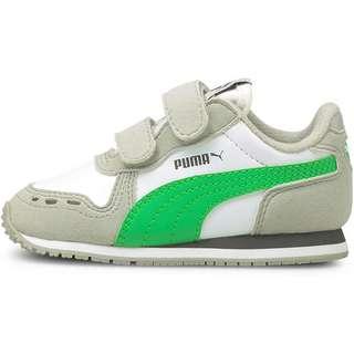 PUMA Cabana Racer SL V Sneaker Kinder puma white-island green