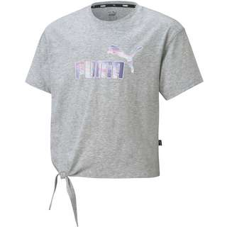 PUMA ESSENTIALS T-Shirt Kinder light gray heather