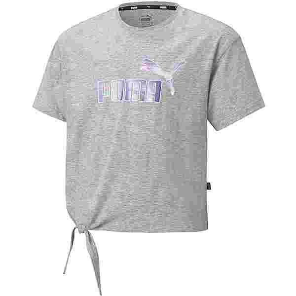 PUMA ESSENTIALS T-Shirt Kinder light gray heather
