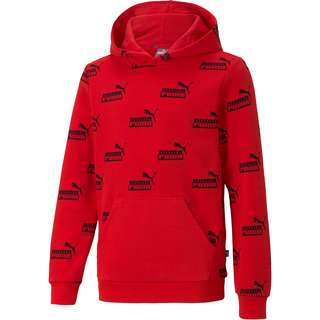 PUMA AMPLIFIED Hoodie Kinder high risk red