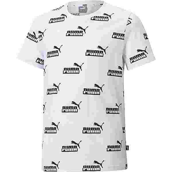 PUMA AMPLIFIED T-Shirt Kinder puma white