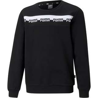 PUMA AMPLIFIED Sweatshirt Kinder puma black