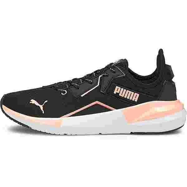 PUMA Platinum Metallic Fitnessschuhe Damen elektro peach- black-white