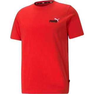 PUMA Essentials T-Shirt Herren high risk red-high risk red black/white