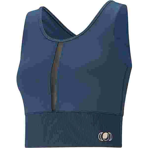 PUMA Yoga Croptop Damen ensign blue