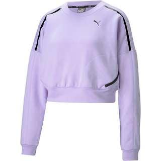 PUMA Funktionssweatshirt Damen light lavender