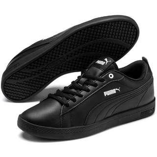 PUMA Smash V2 L Sneaker Damen puma black-puma black