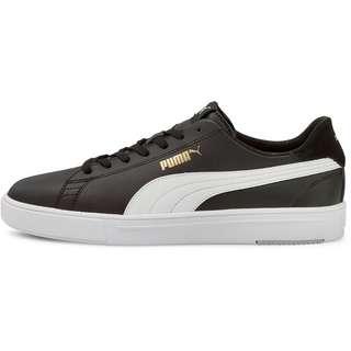 PUMA Serve Pro Lite Sneaker Herren puma black-puma white-puma team gold