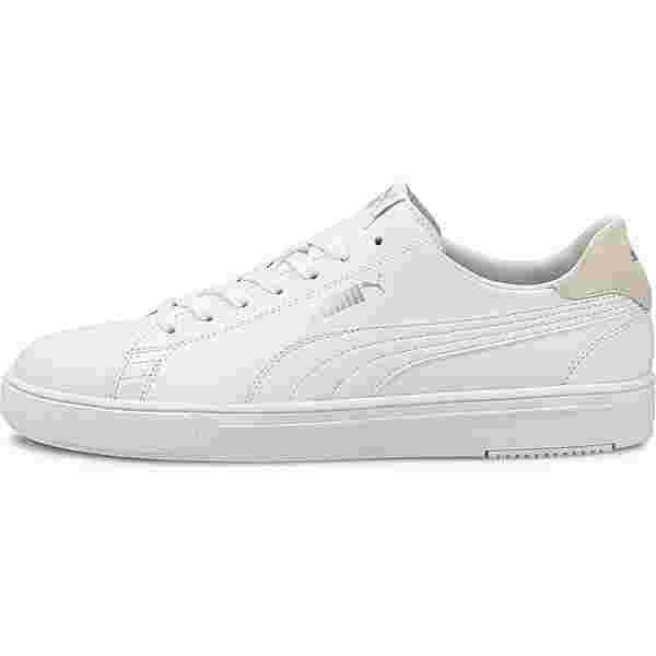 PUMA Serve Pro Lite Sneaker Herren puma white-puma white-puma silver-gray violet